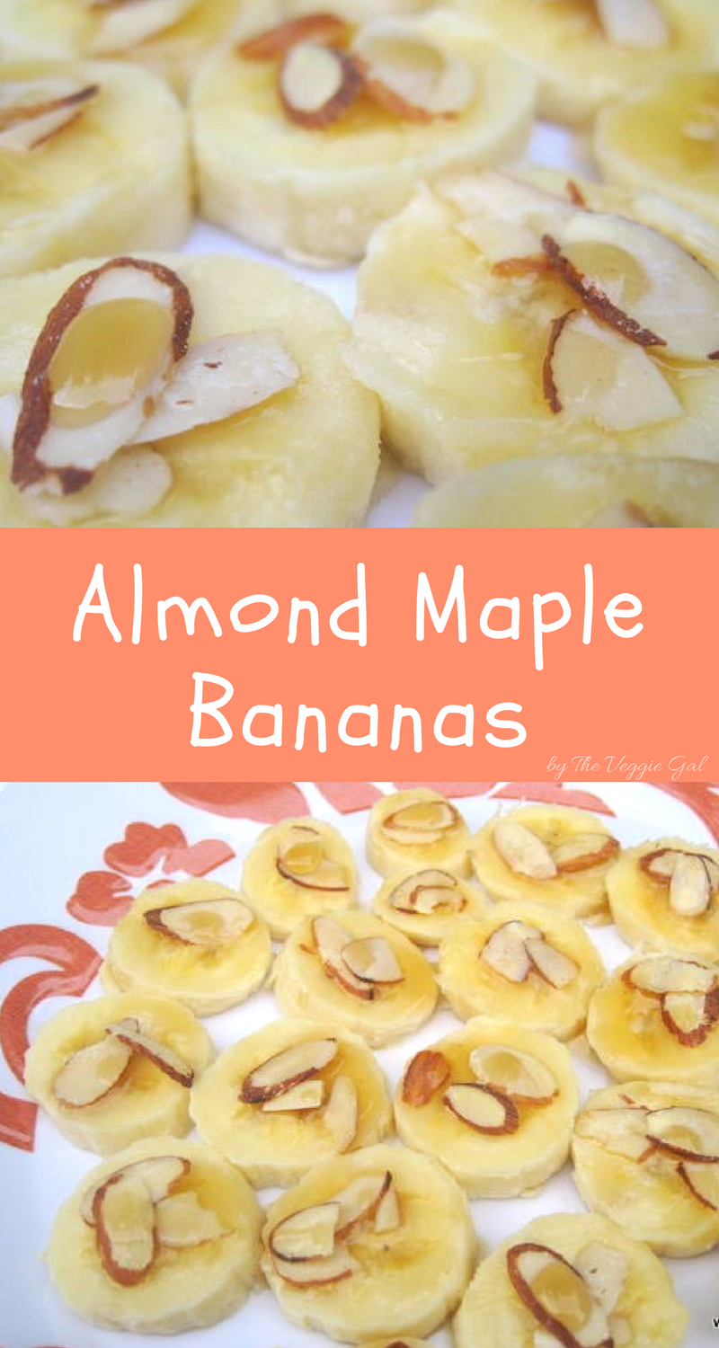Almond Maple Bananas