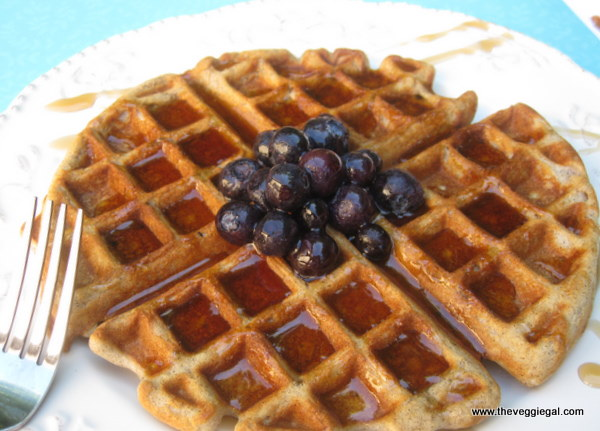 Oatmeal Waffles