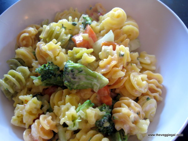 Pretty pasta salad