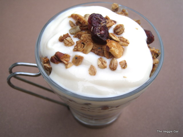 Vegan Granola Yogurt Parfait