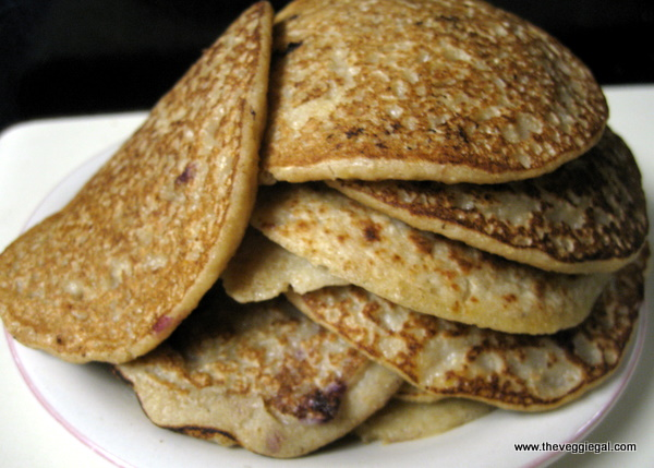Neal Barnard, Oatmeal Pancakes