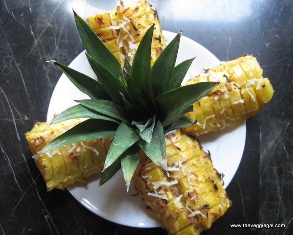 Spiced French Toast With Roasted Pineapple Recipe — Dishmaps