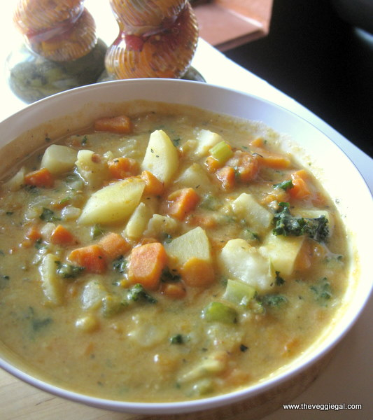 Mixed Potato Chowder