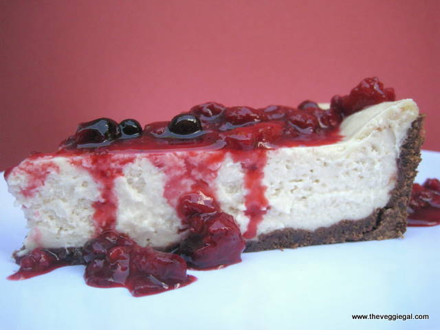Berry Topped Cheezecake