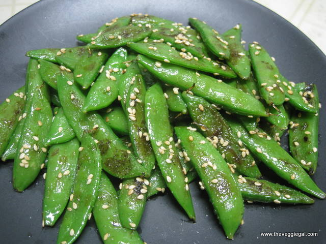 how to serve snap peas