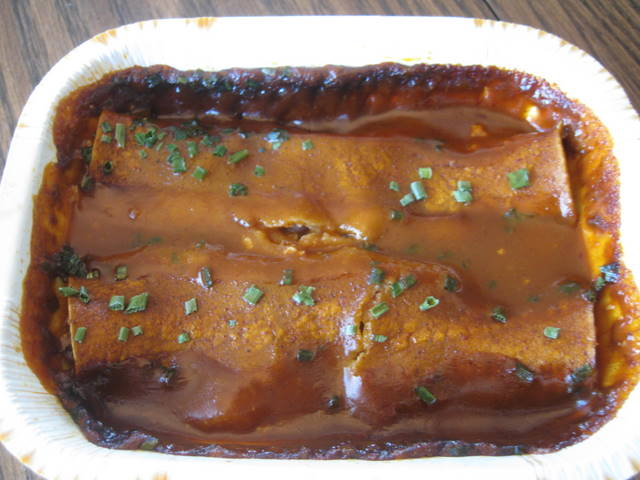 Amys Vegan Enchilads