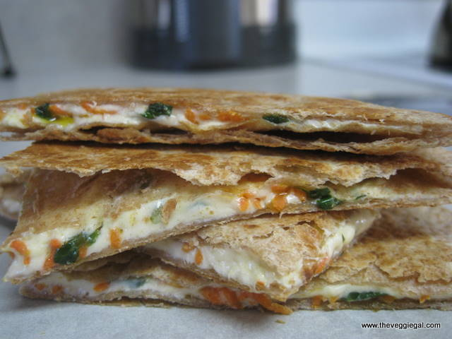 Cheez & Veggie Quesadilla
