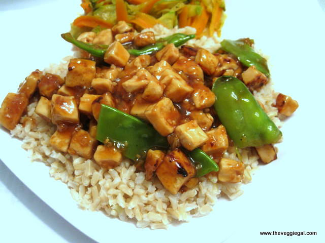 orange tofu