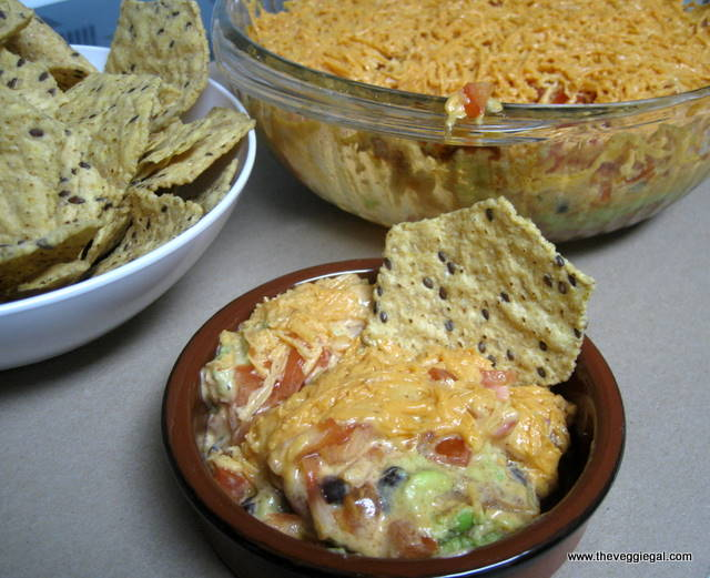 Fattening Friday-7 Layer Mexican Dip