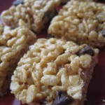 PB Rice Crispy Treats