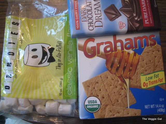 vegan smore ingredients