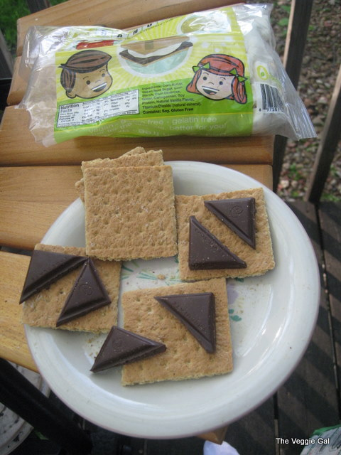 vegan smore assembly