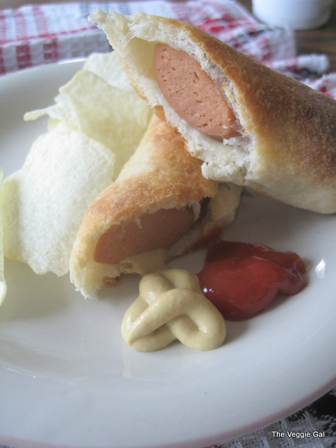 Veggie Dogs in a Blanket