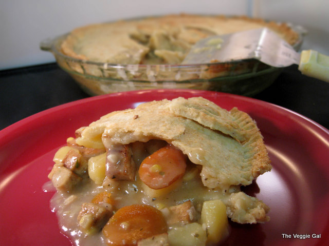 vegan Tofu pot pie
