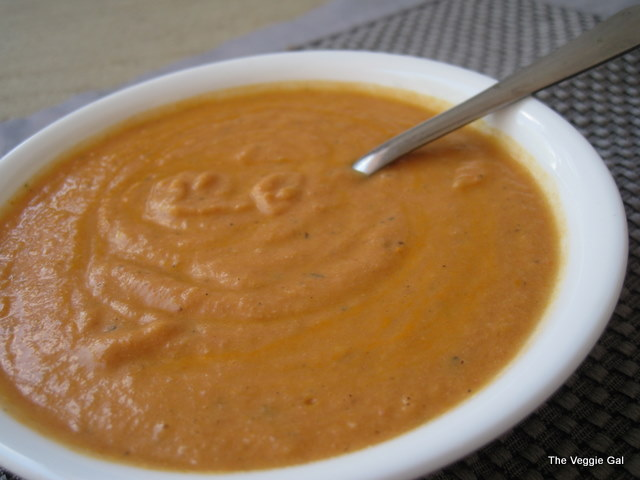 Vegan Tomato Bisque from The Conscious Cook, Tal Ronnin