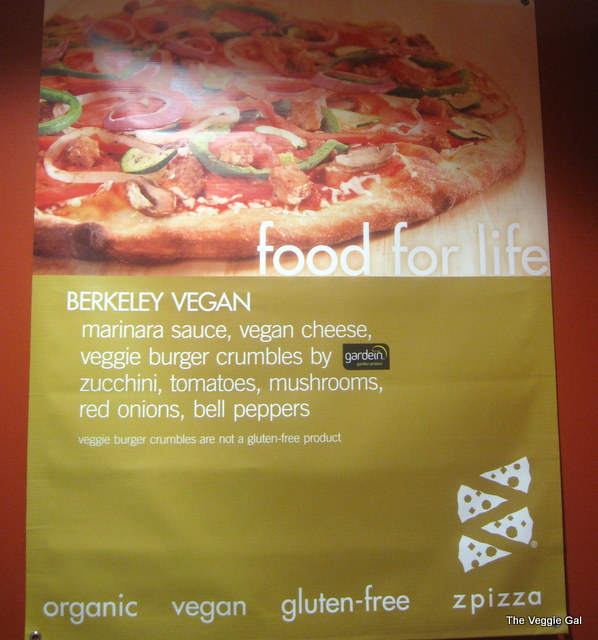zpizza review by The Veggie Gal
