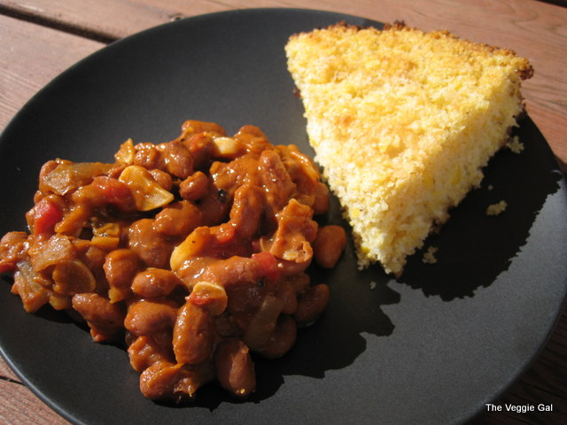 AMAZING~Smoked Vegan Beans