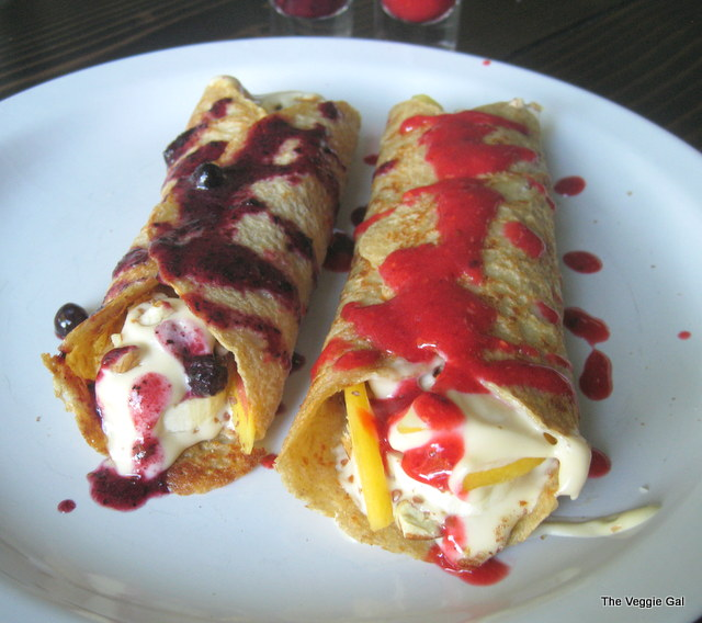 Sweet Oatmeal Crepes