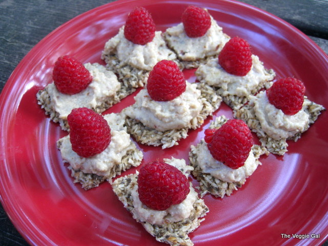 Coconut Flax Crackers