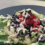 Mexican Quinoa Salad w/chipotle Ranch Dressing