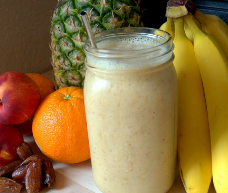 Super Simple Sunshine Smoothie