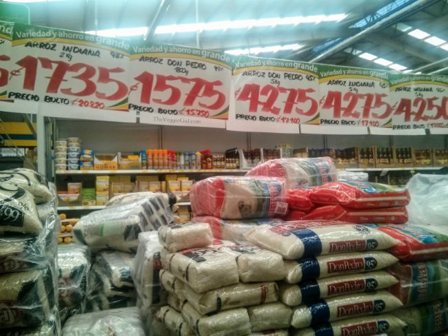 Tons of Costa Rican Rice