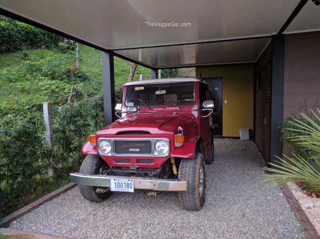Our Toyota Land Cruiser in Costa Rica