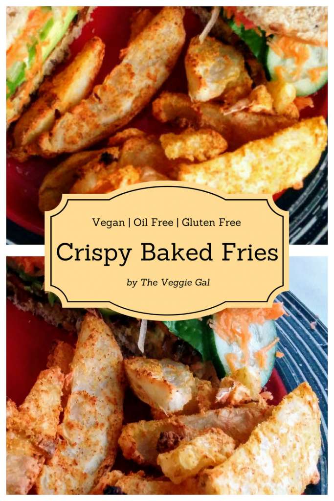 Oil Free Crispy Baked Fries