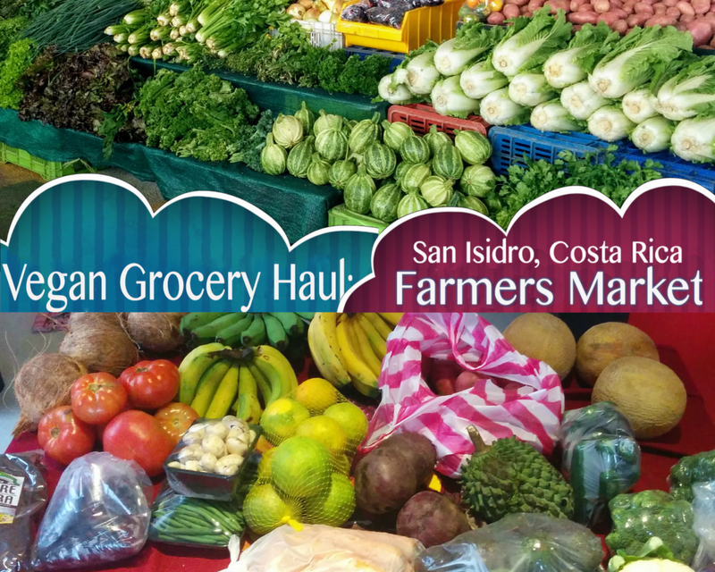 Vegan Grocery Haul: Part One, Farmer's Market - The Veggie Gal