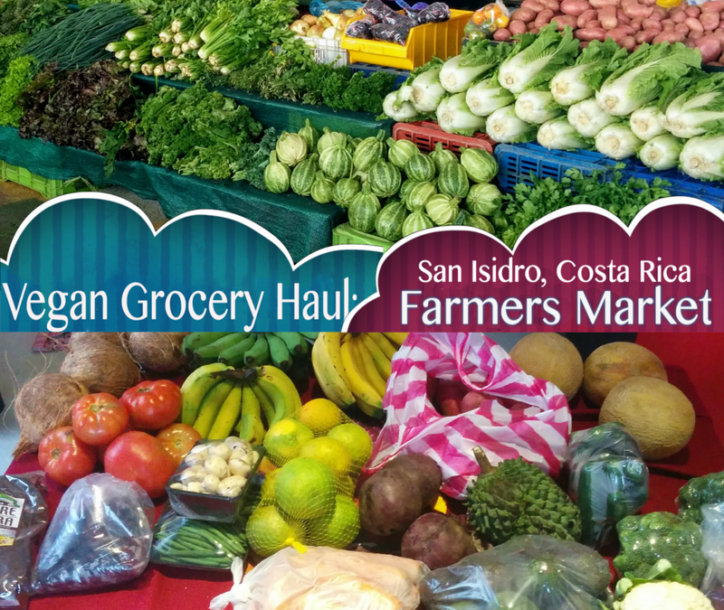Vegan Grocery Haul: Part One, Farmer's Market