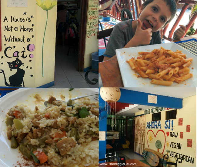 How to eat vegan in samara costa rica the veggie gal for Ahora mexican cuisine