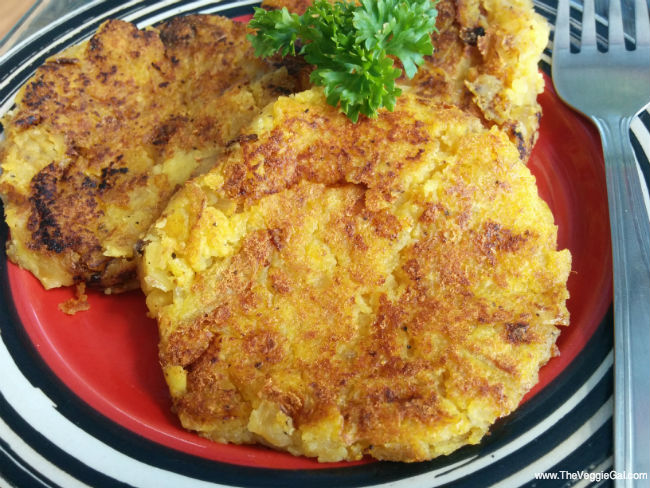 Vegan Low Fat Potato Pancakes