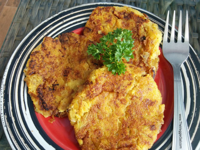 Vegan Mashed Potato Pancakes