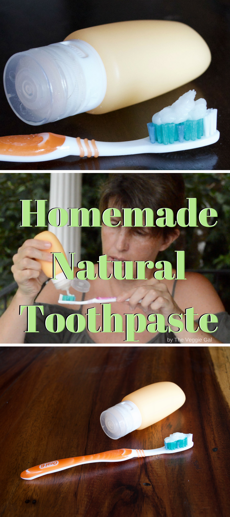 Homemade Natural Toothpaste with coconut oil