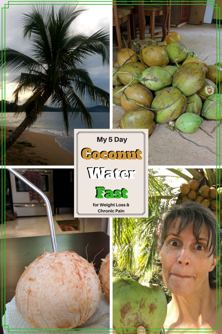 5 day Coconut Water Fast, juice fast, fasting for weight loss