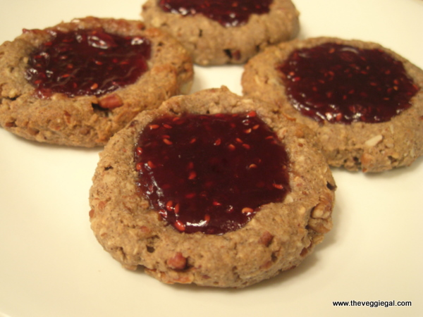 Almond Butter & Jelly cookies