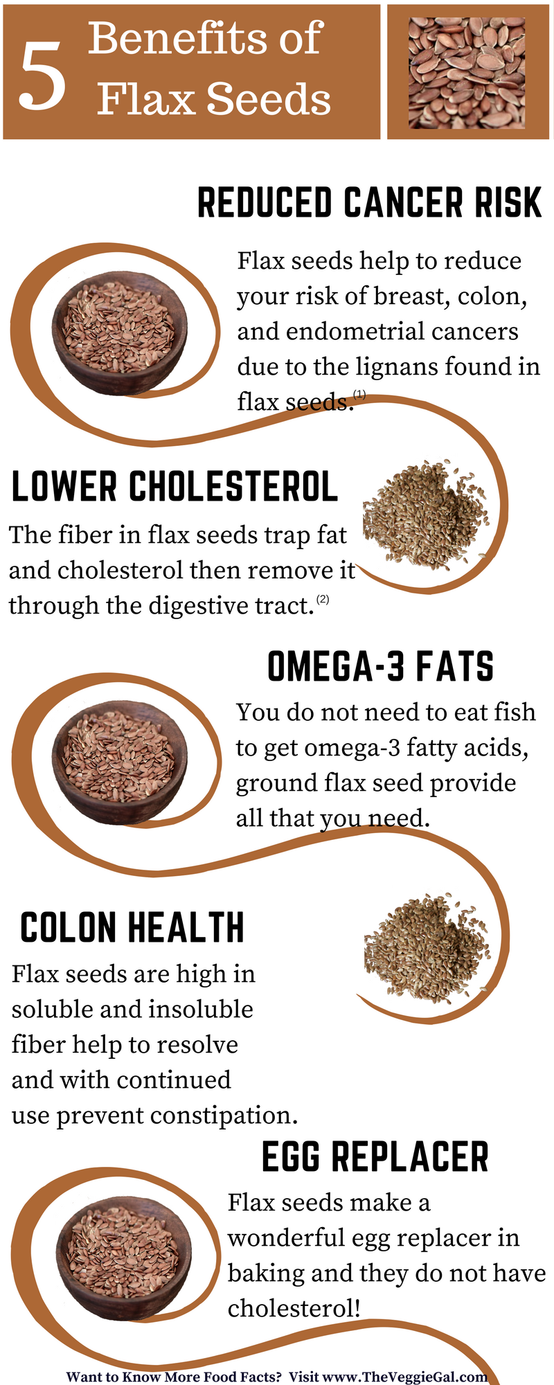 5 Benefits of flax seeds